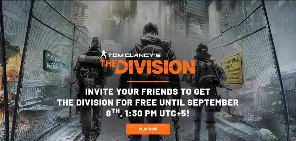 the division free