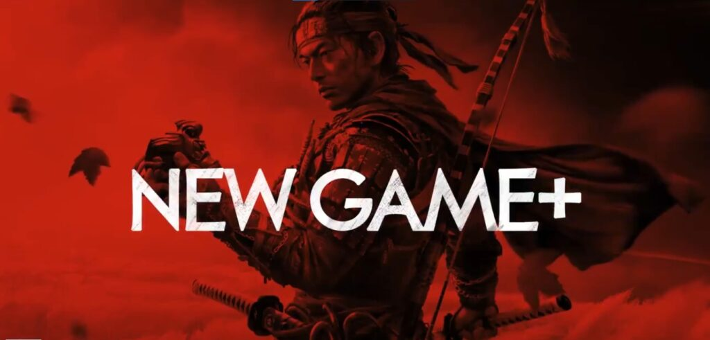 ghost of tsushima how to play new game plus