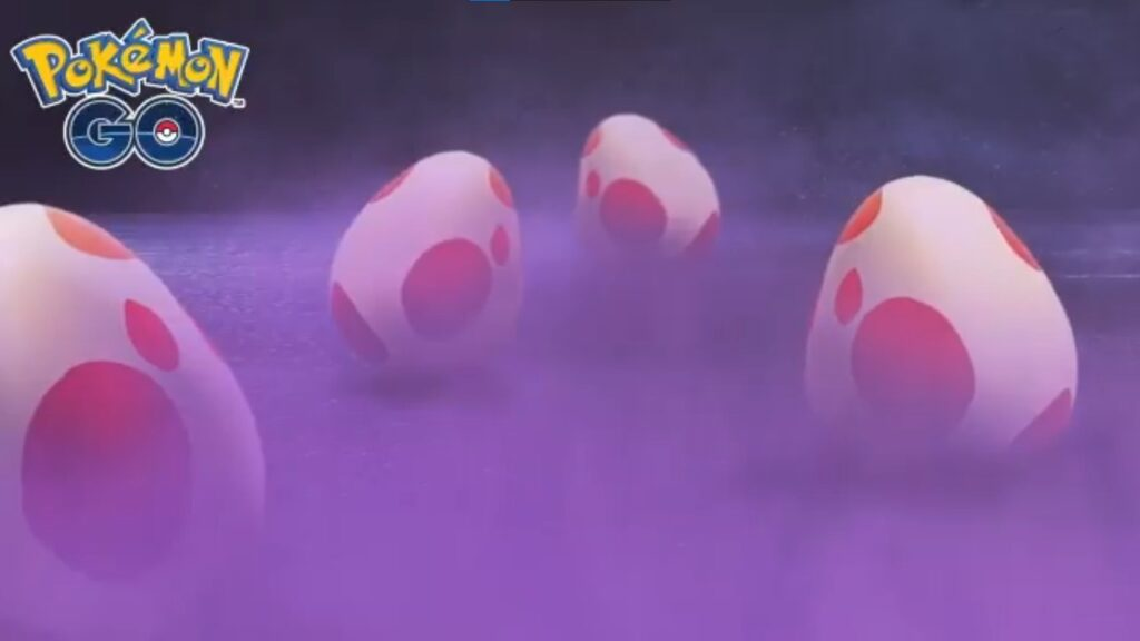 how to get red eggs pokemon go