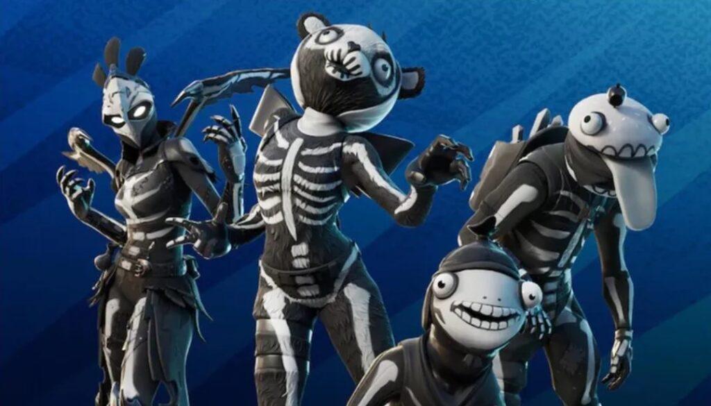 skull squad new pack in fortnite