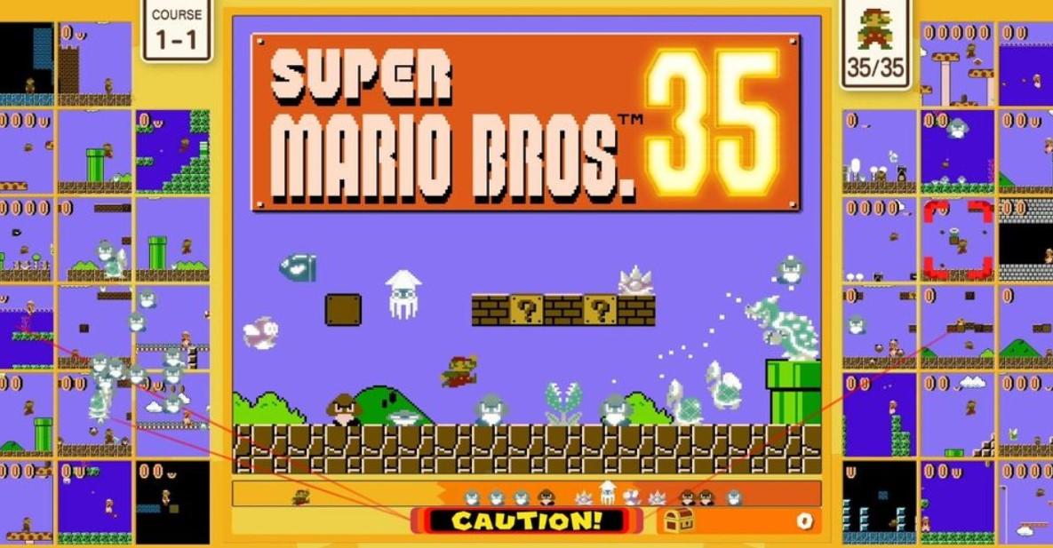 super mario bros 35 released