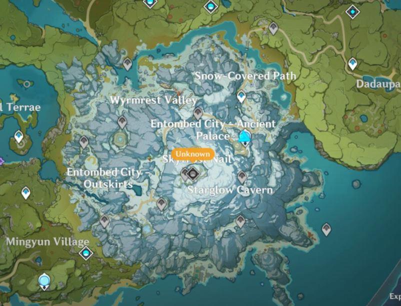 Genshin Impact Full Map Leaked