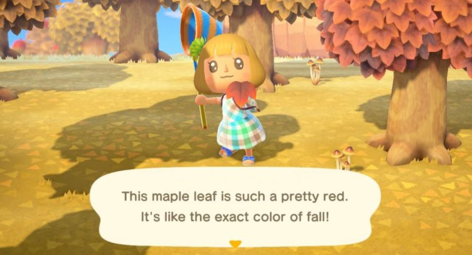 How To Catch Maple Leaves In Animal Crossing