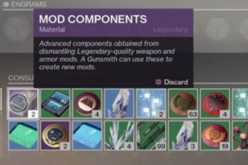 How To Get Mod Components Destiny 2