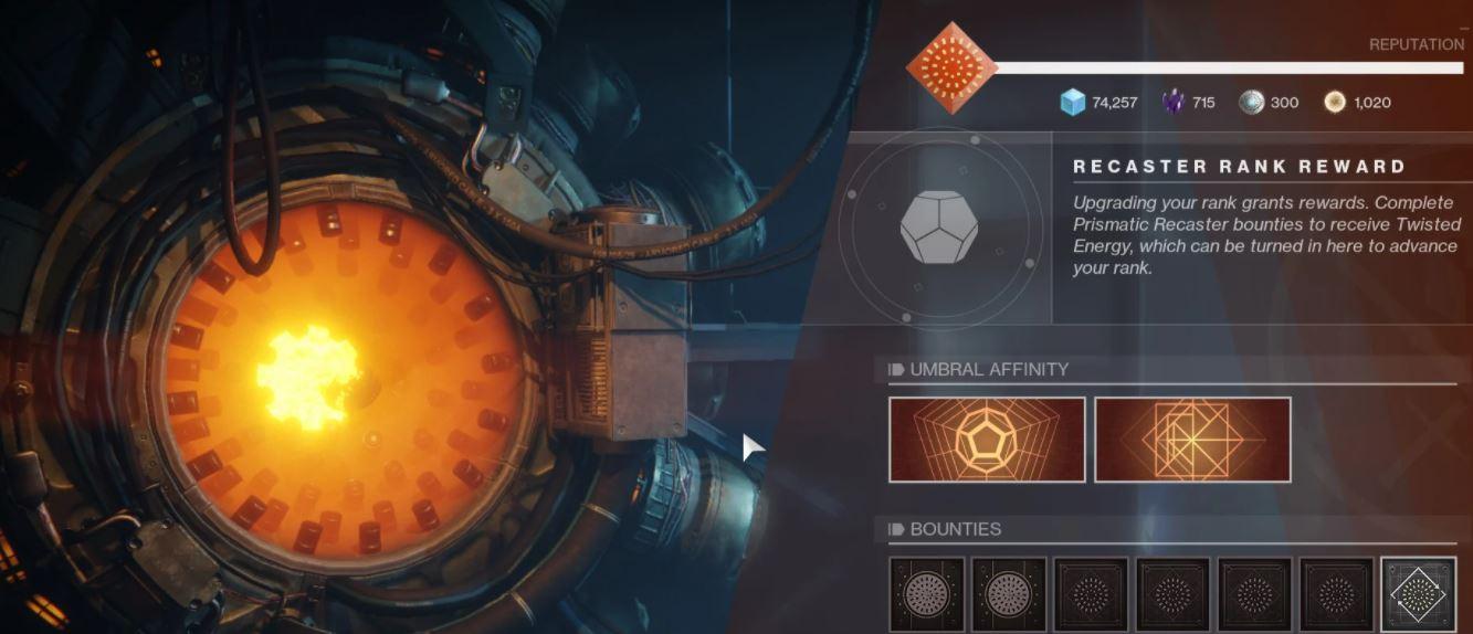 Umbral Flames Quest Destiny 2