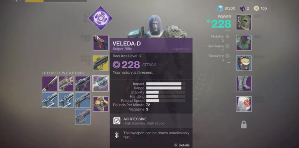 What Is A Power Weapon In Destiny 2