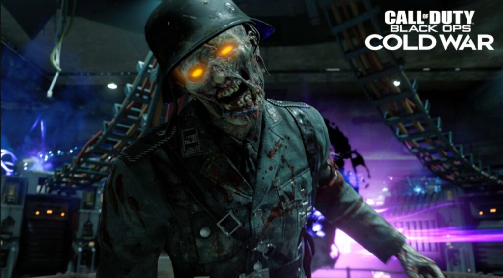 how to split screen zombies cold war