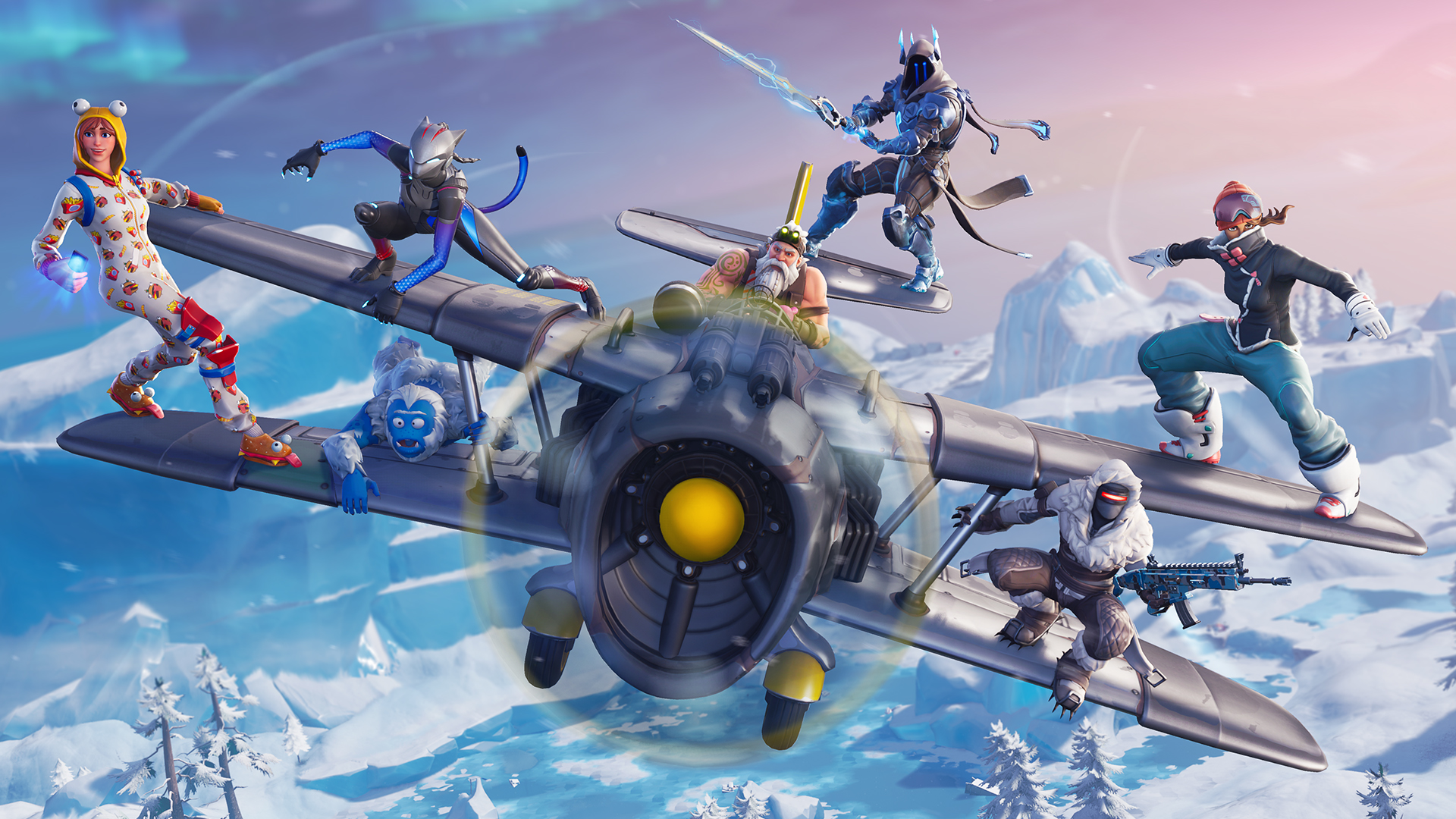 How to Find X 4 Stormwing Fortnite Location