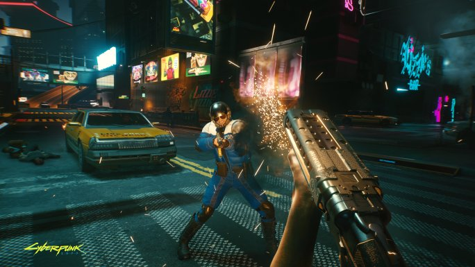How to use smart weapons cyberpunk 2077