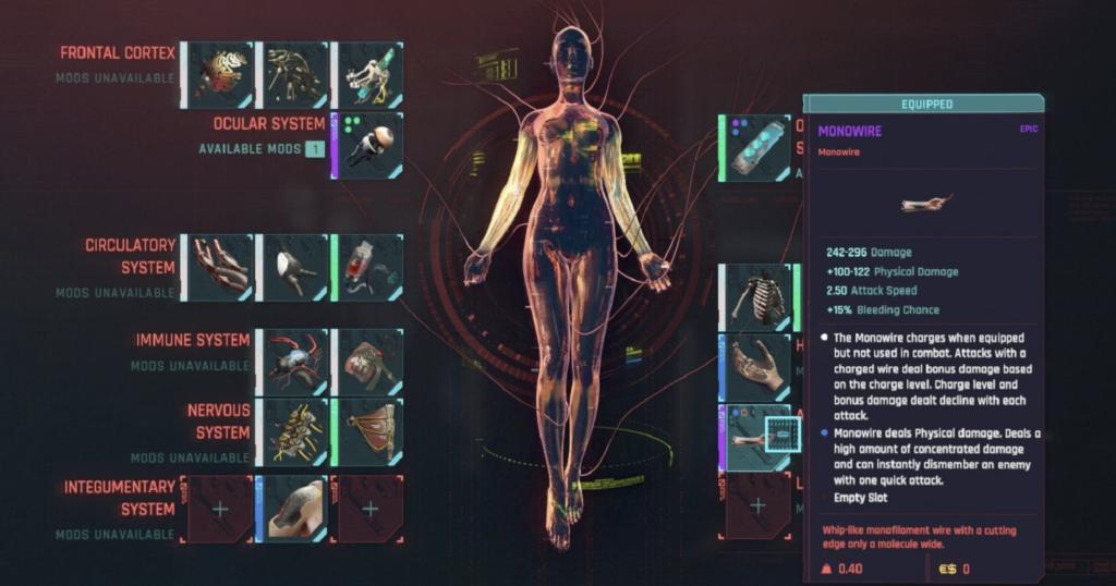 cyberpunk 2077 body mods