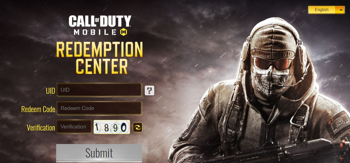 call of duty mobile redemption code