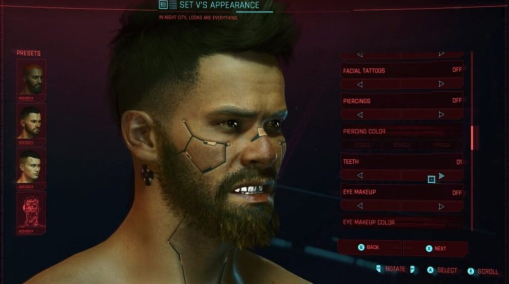 cyberpunk 2077 character creator online
