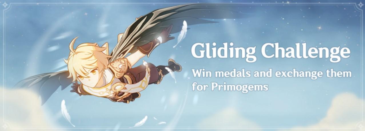 genshin impact gliding challenge\