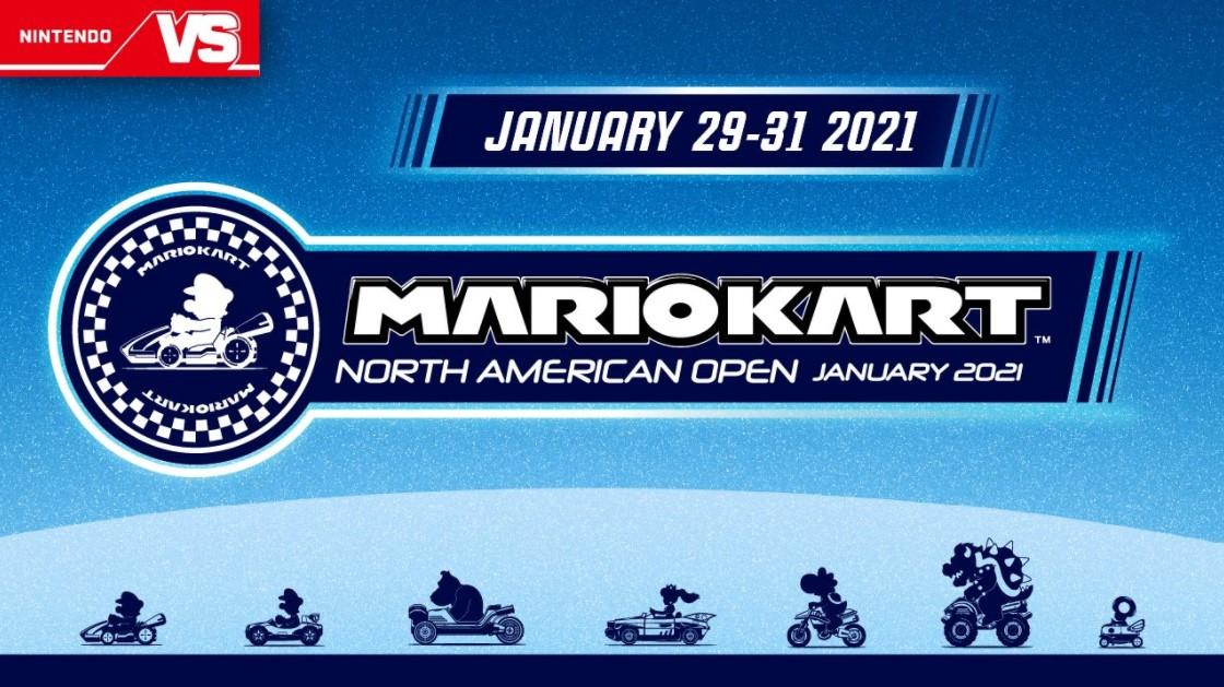 Nintendo Mario Kart North American Open 2021