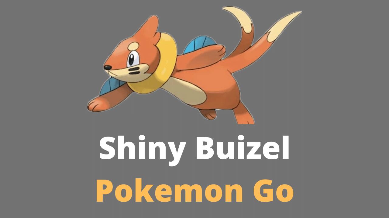 Shiny Buizel Pokemon Go