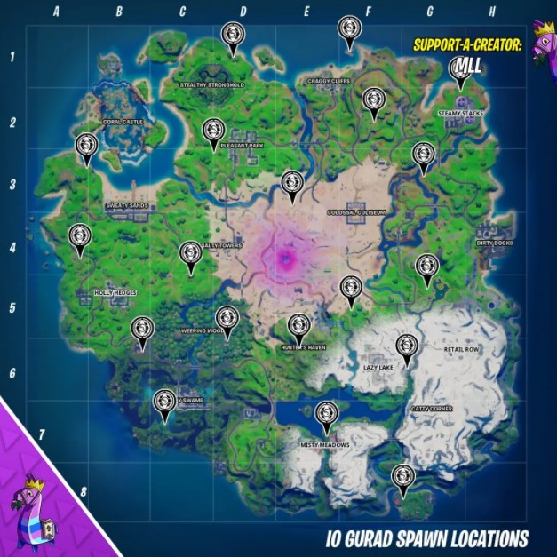 fortnite io guard spawns