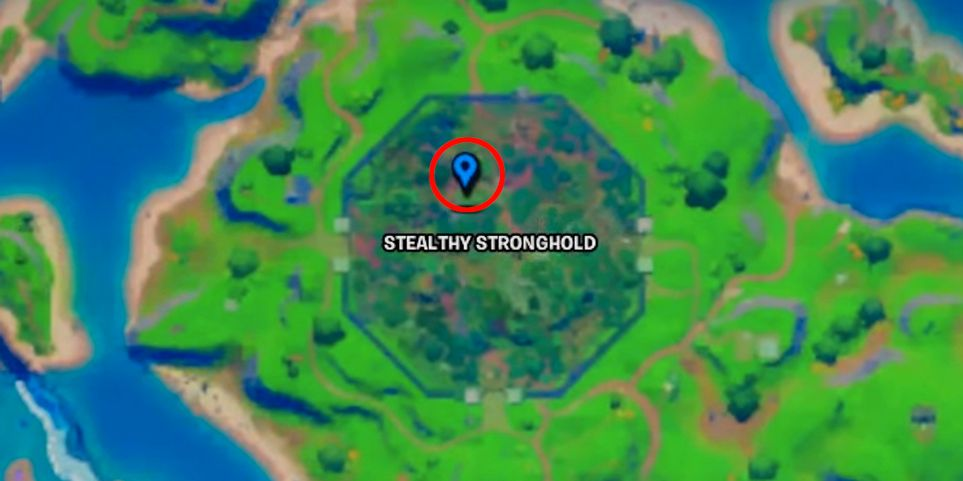 Find Mysterious Pod Fortnite