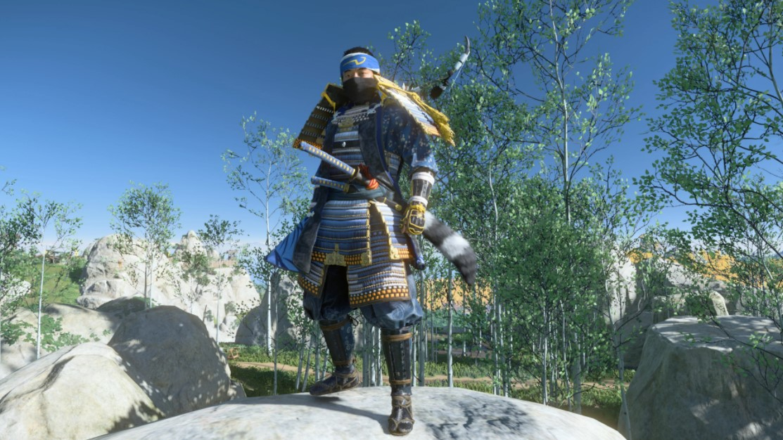 ghost of tsushima dress as a legendary thief