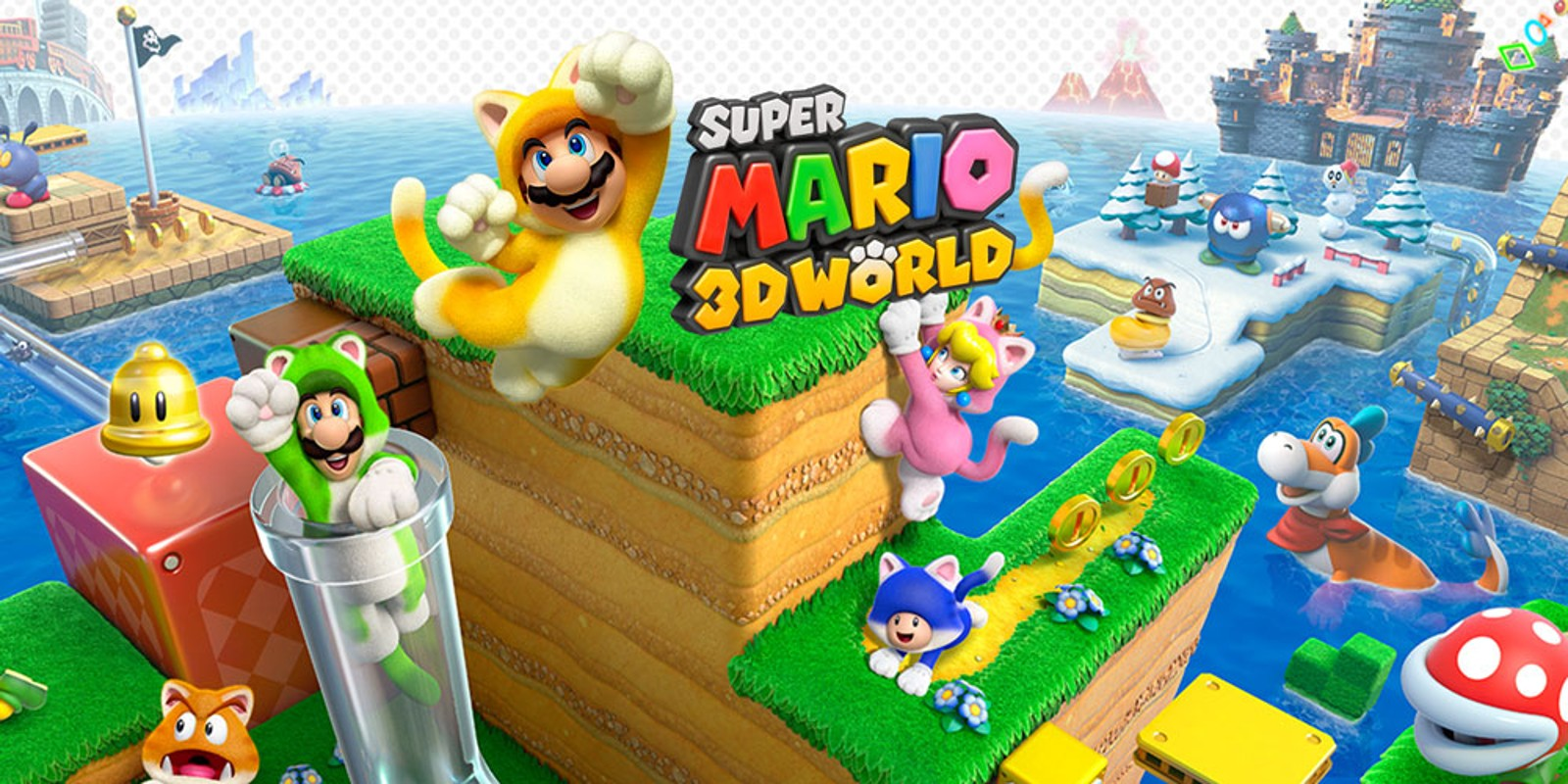 How Many Worlds Are There in Super Mario 3D World