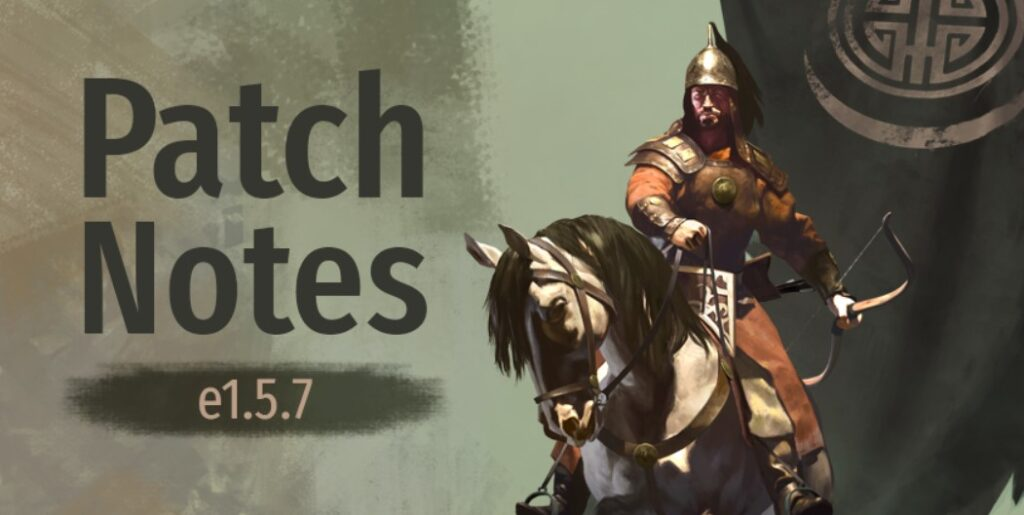 mount and blade 2 bannerlord update 1.5.7