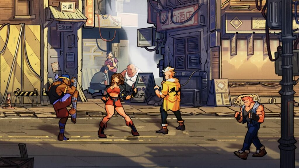 Streets Of Rage 4 Update 1.05
