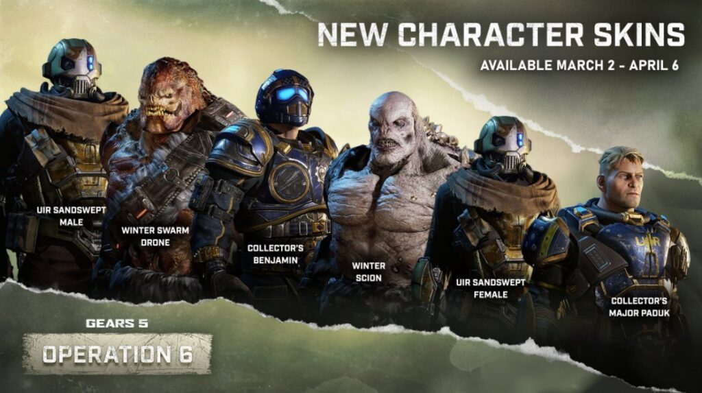 gears 5 operation 6 is live