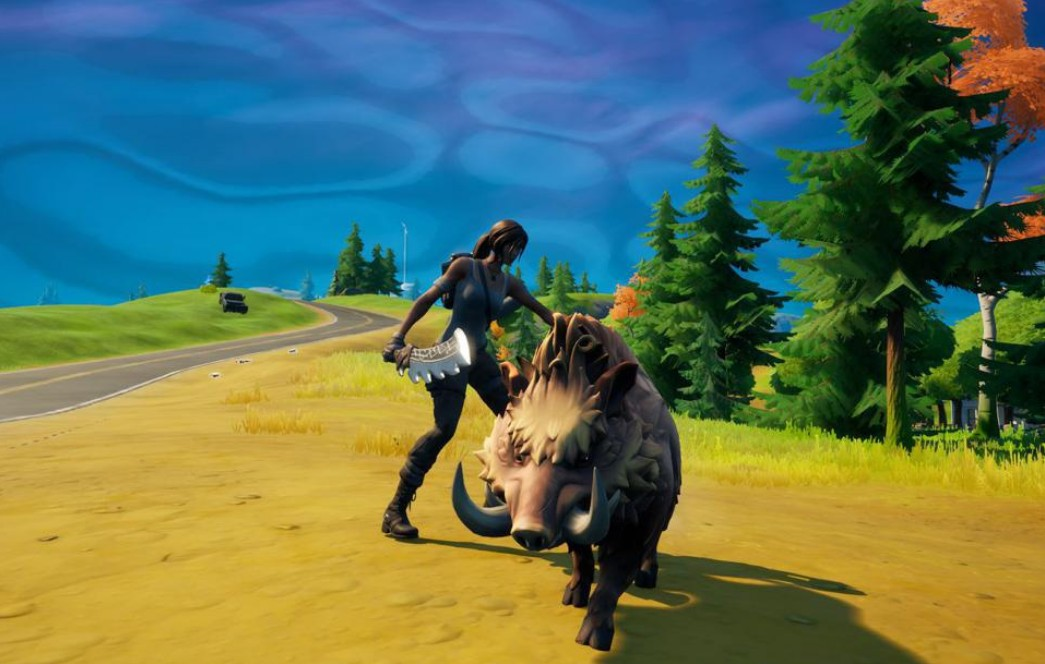 how to tame a boar fortnite