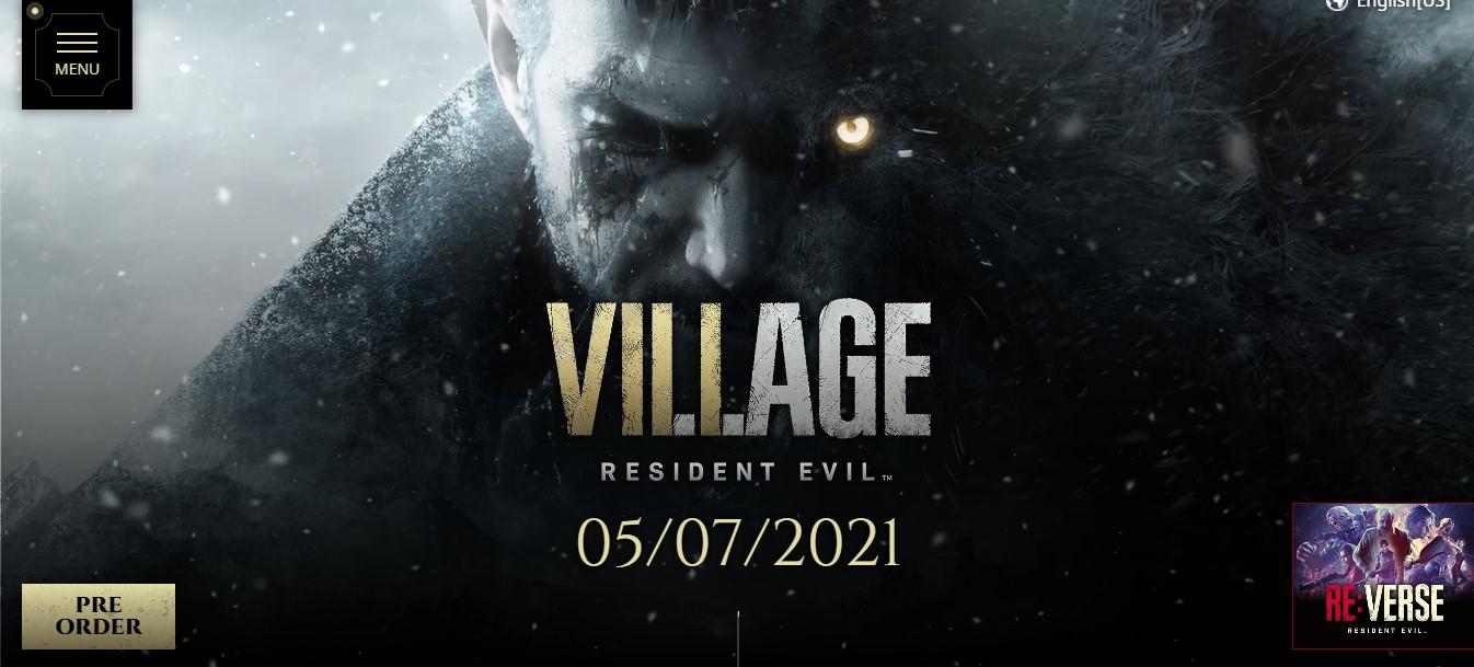 resident evil village download file size