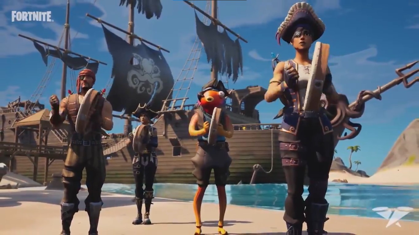 Fortnite Emotes On Guitar Fortnite Shanty For A Squad New Emote Available Trailer Price Gameplayerr