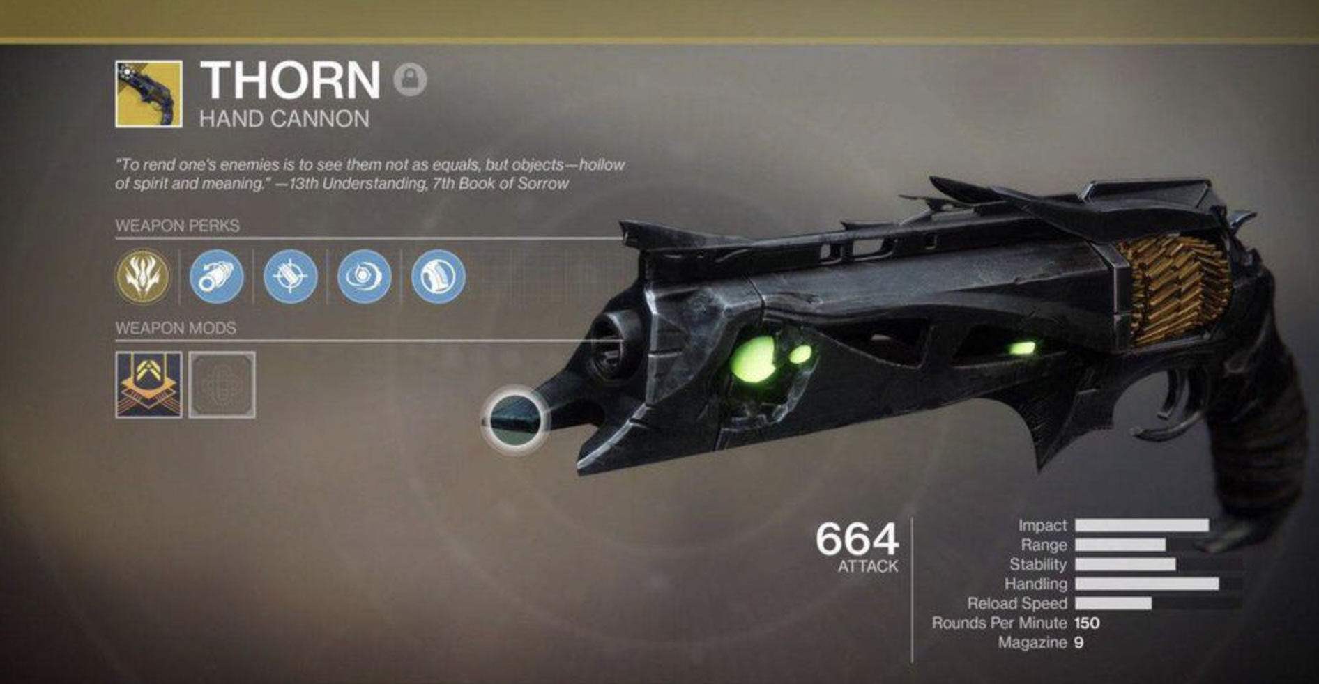 How to Get Thorn Destiny 2 2021