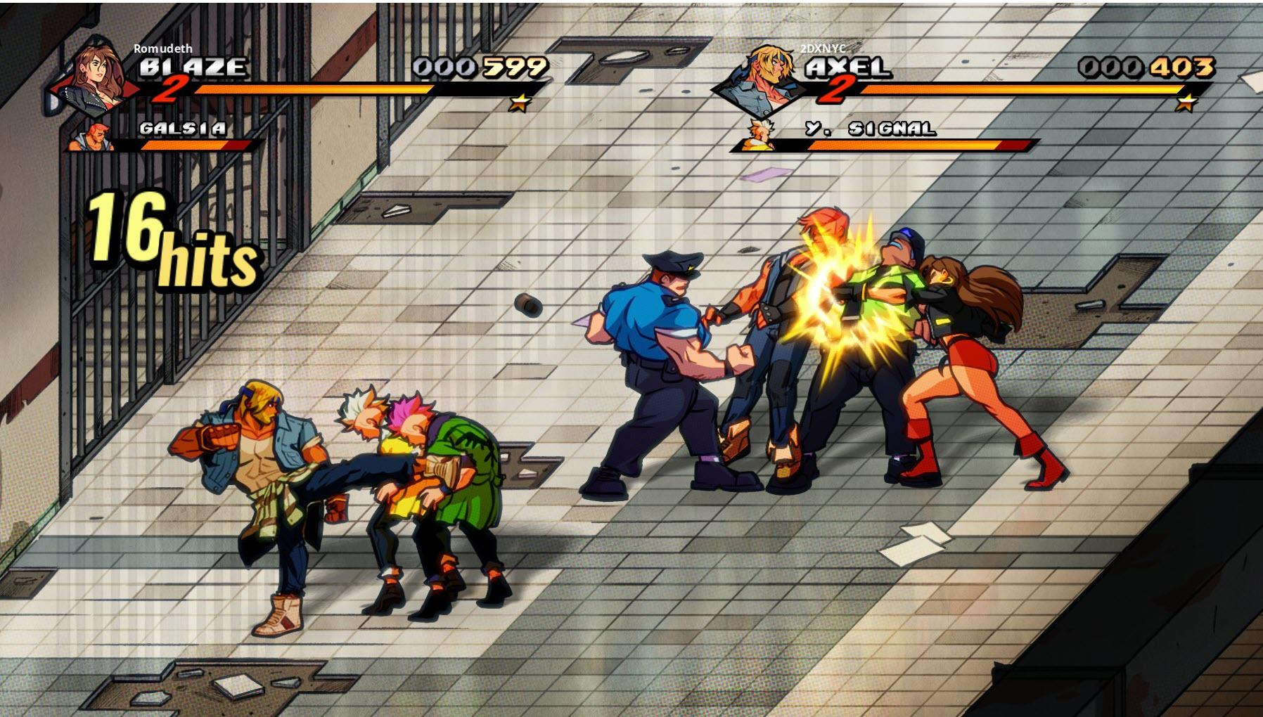 Streets of Rage 4 DLC Release Date