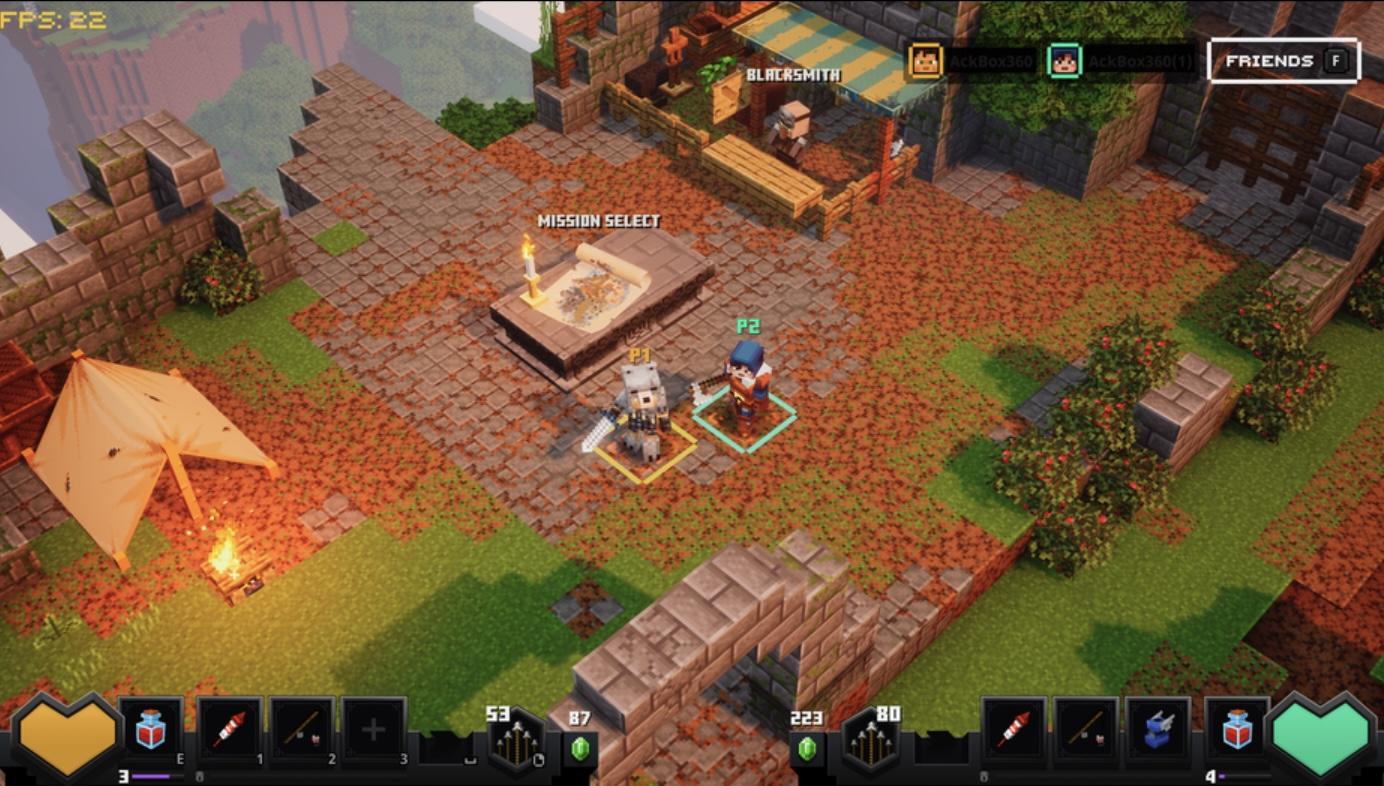 Minecraft Dungeons Update 1.17
