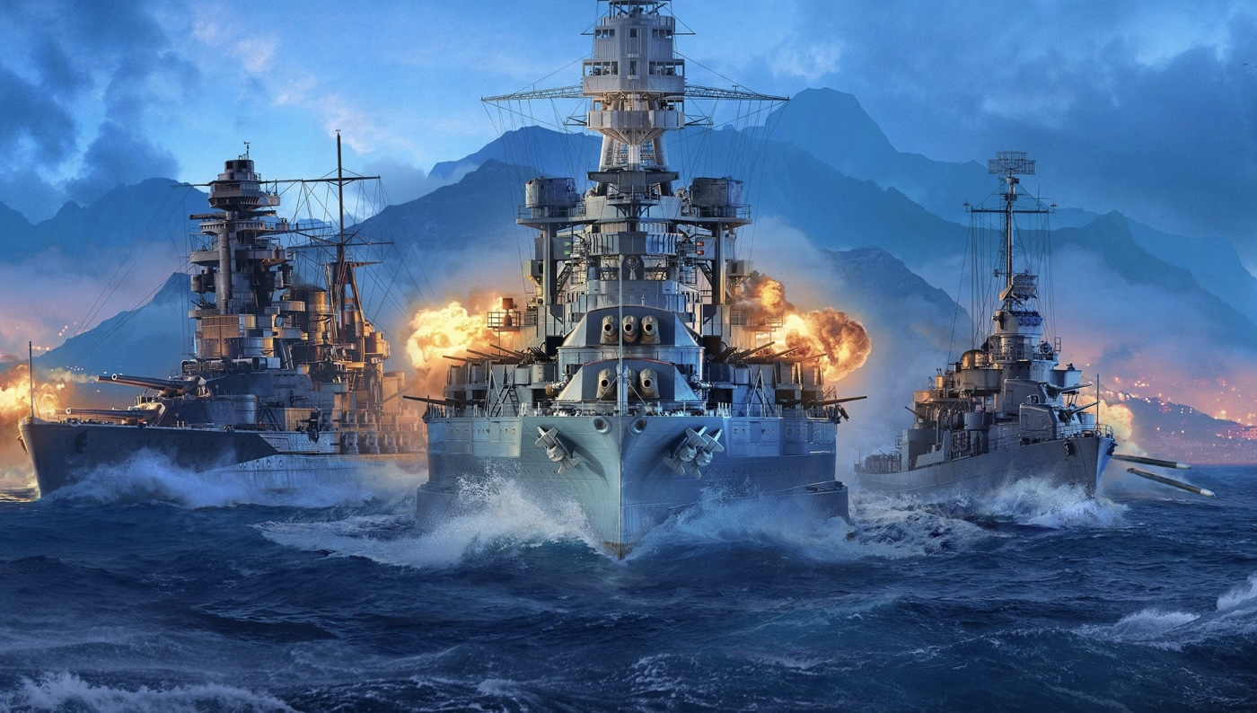 World of Warships Update 1.59