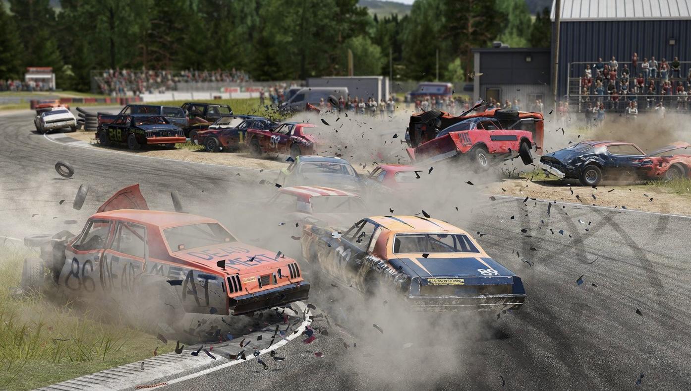 Wreckfest Steam Update