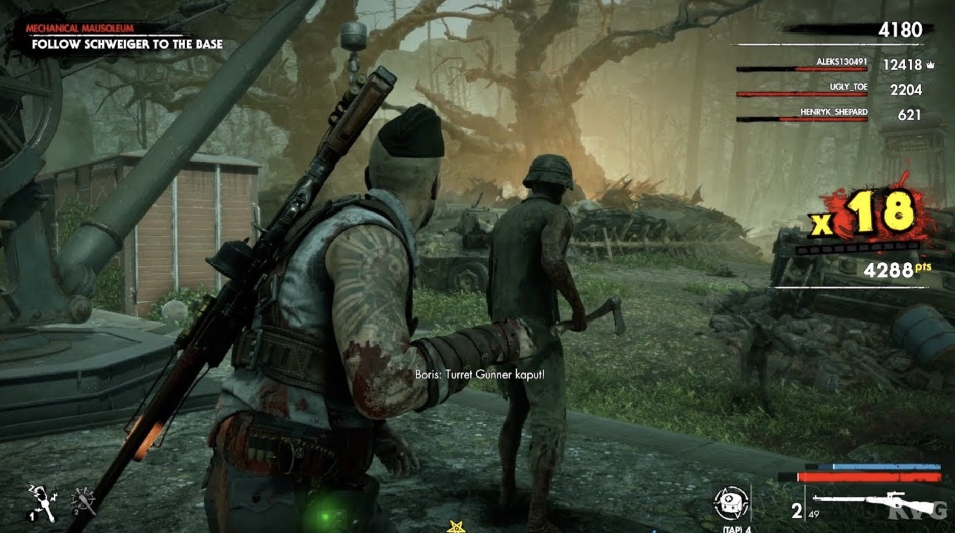 Zombie Army 4 Update 1.32 Patch Notes