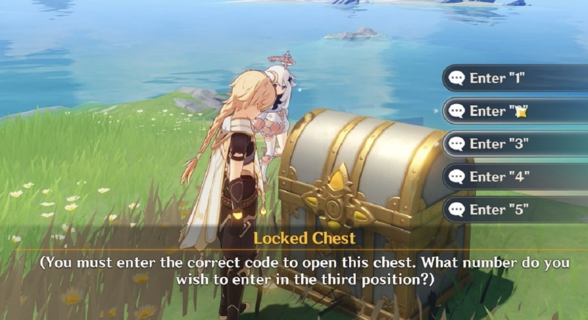 Locked Chest Code Genshin
