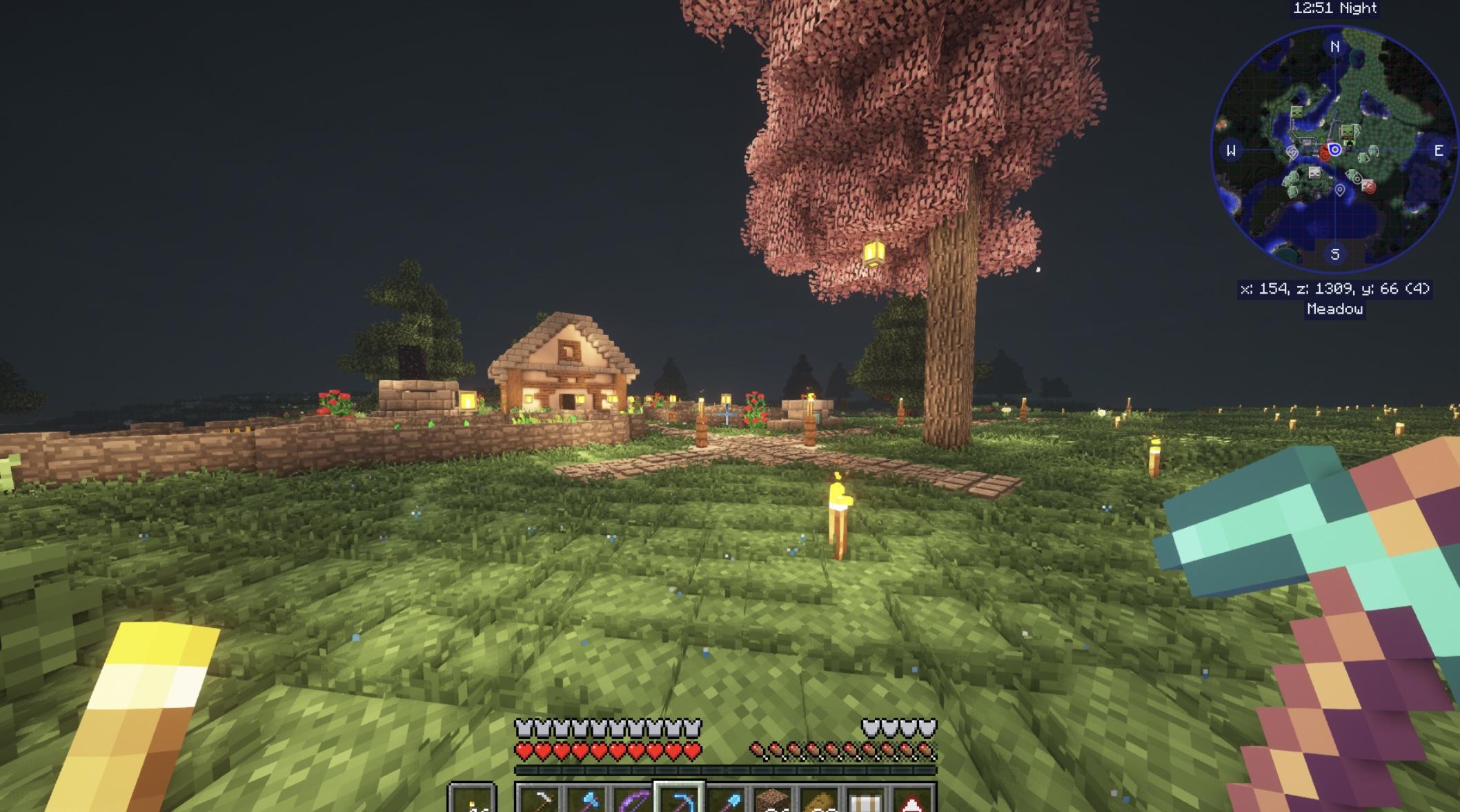 Minecraft BSL Shaders 1.17
