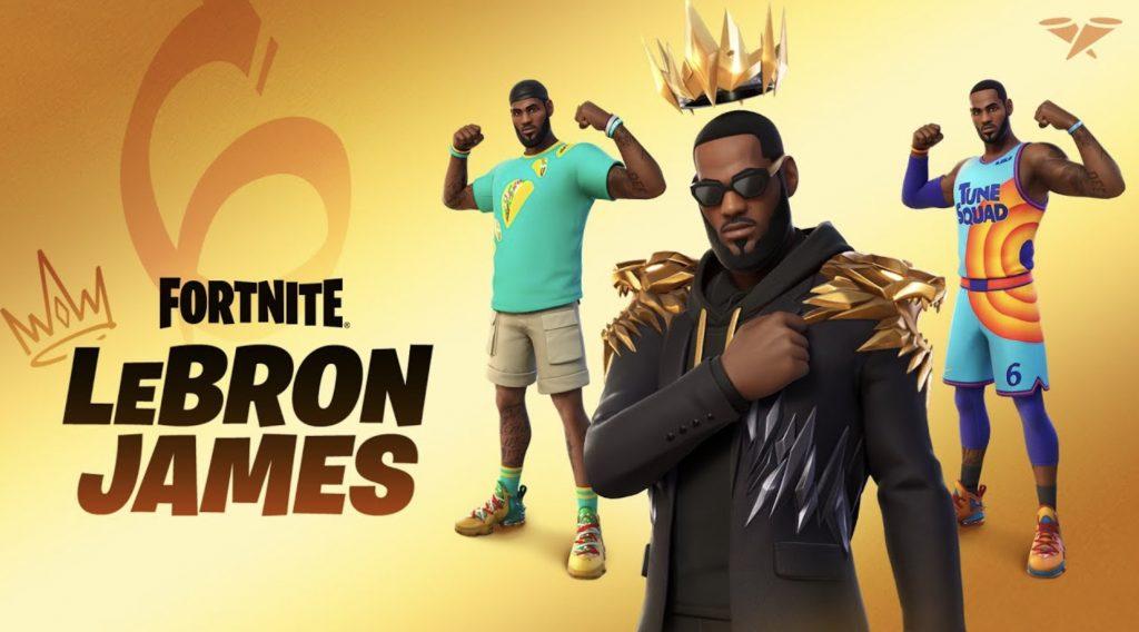 Lebron James Codes Fortnite