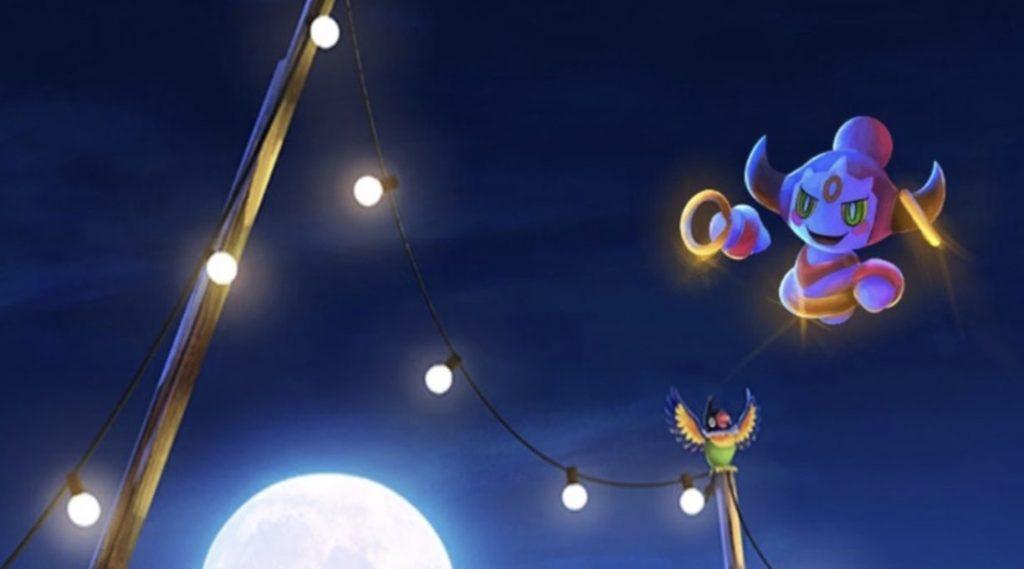 Pokemon Go Ring In Sky