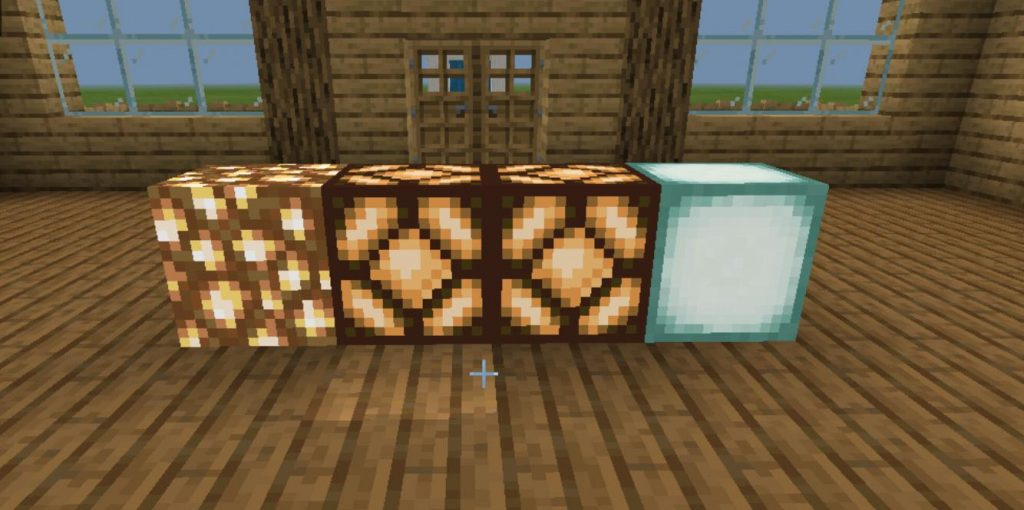 How to Make a Redstone Lamp