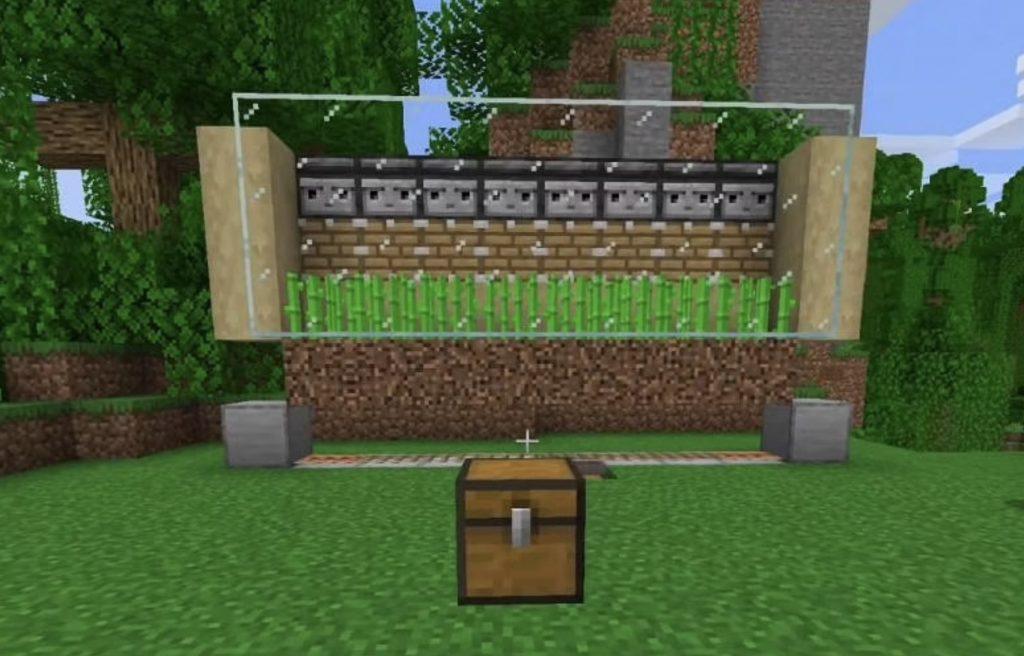 Automatic Wheat Farm Minecraft 1.17