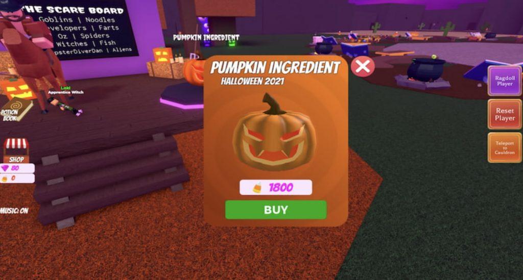 How To Get Pumpkin In Wacky Wizards