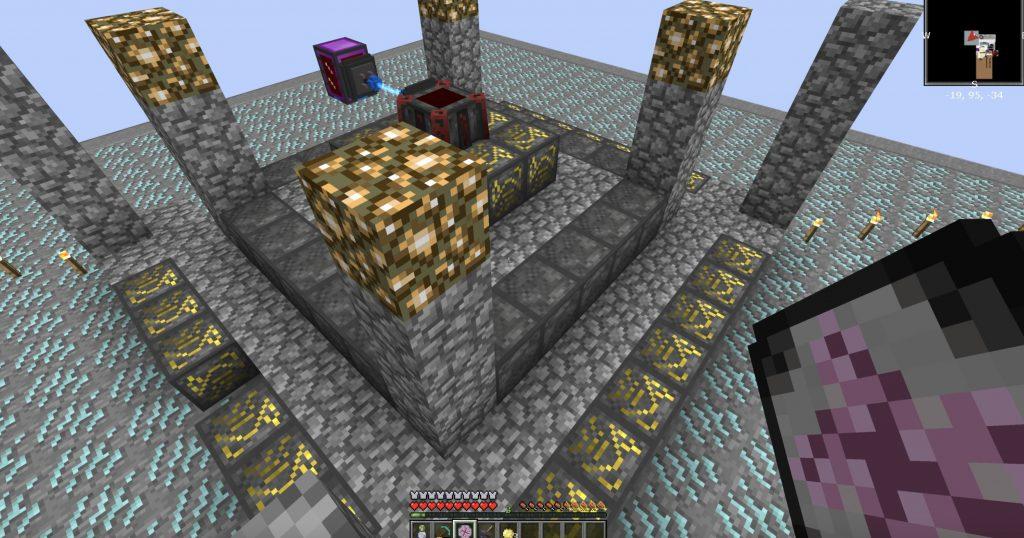 Minecraft Blood Magic Altar Setup